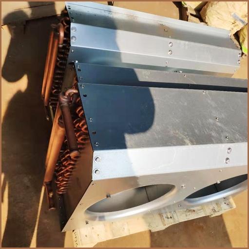 异形铜翅片散热器电泳喷涂